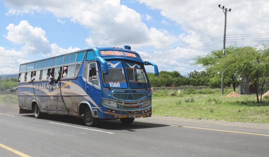 Africa Forum local transport bus