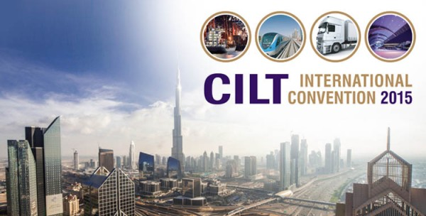 CILT Interntaion Convention 2015 in Duabi with an illustration of Dubai