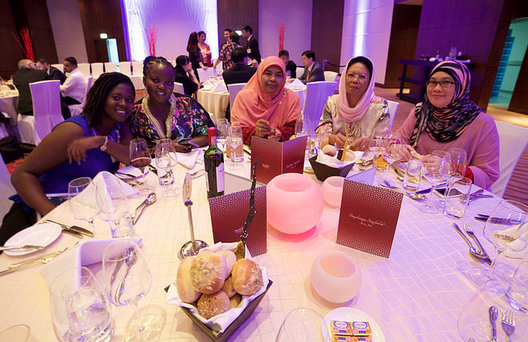 Dubai CILT Convention 2015 image of the President's Dinner