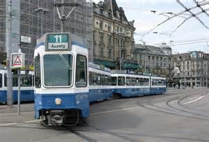 zurich tramcars