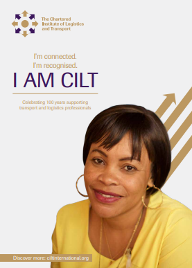 An I AM CILT campaign image of a woman in yellow