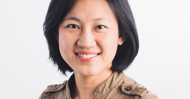 A portrait of Kelly Tan