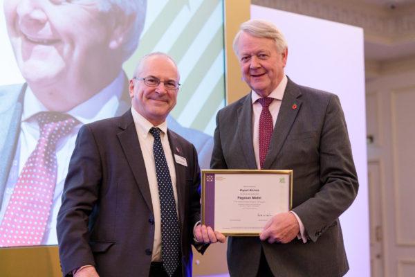 Rupert Nichols and Sir Peter Hendy