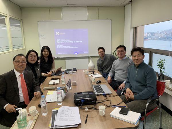Meeting of the CILT Korea Team