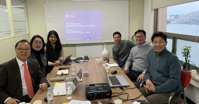 Meeting of the CILT Korea Team