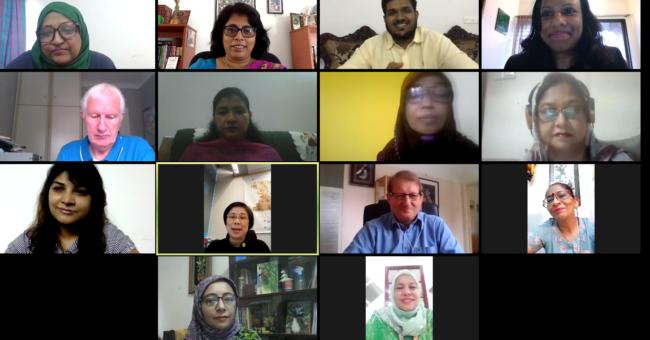 WiLAT Bangladesh Launch Zoom call