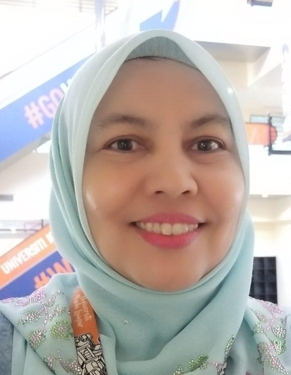 Portrait of Zawiah Abdul Majid