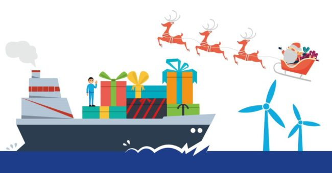 Seafarers Delivering Christmas Logo