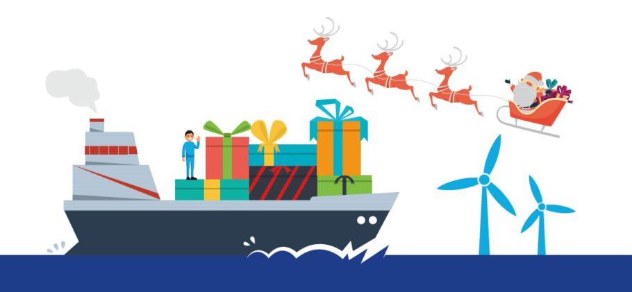 Seafarers Delivering Christmas Logo