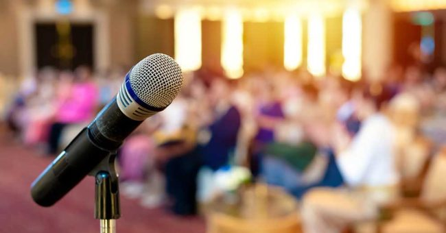 Event conference CILT microphone